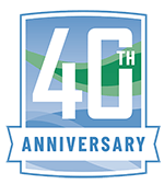Coastal Spray 40th Annniversary Logo